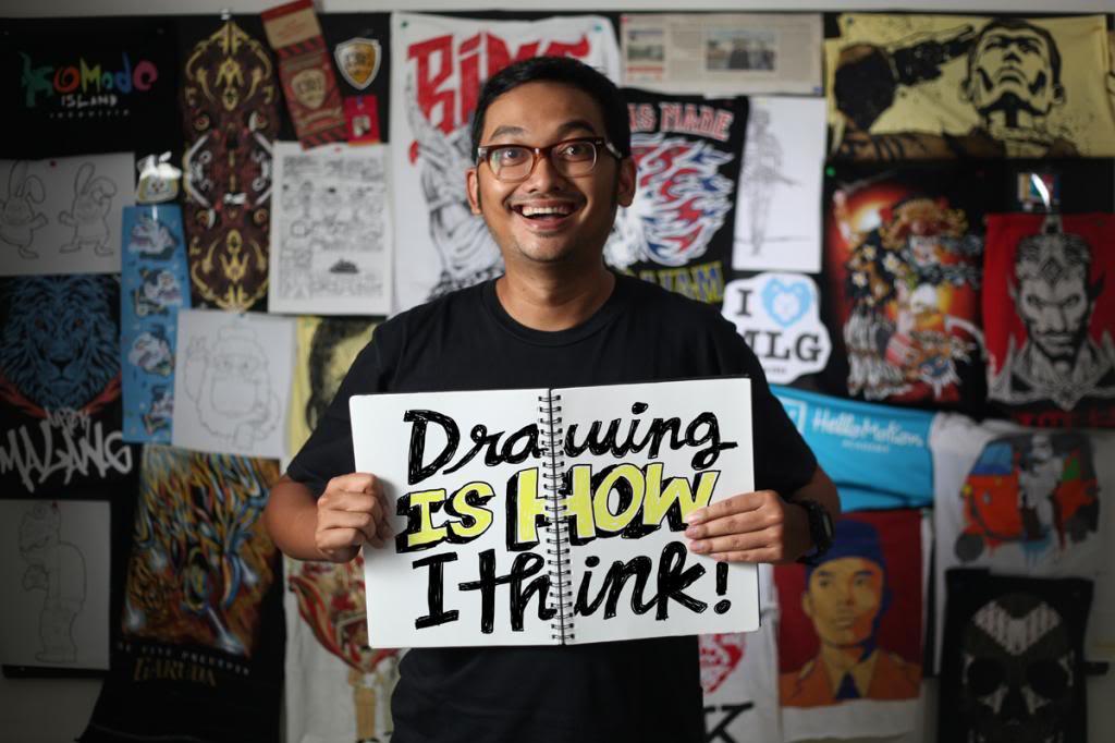 Seorang Desainer Grafis Terkenal Asal Amerika